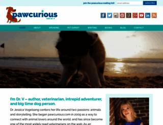 pawcurious.com screenshot