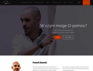 pawelrawski.pl screenshot
