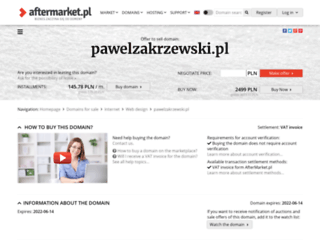 pawelzakrzewski.pl screenshot