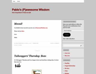 pawesomewisdom.wordpress.com screenshot