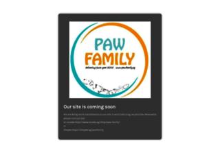 pawfamily.sg screenshot