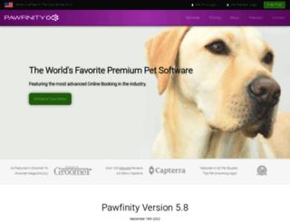 pawfinity.com screenshot