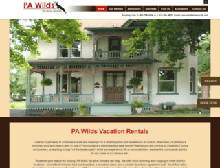 pawildsvacation.com screenshot