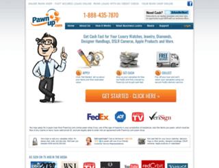 pawnup.com screenshot