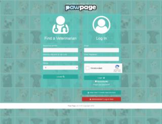 pawpage.com screenshot