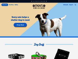paws-cause.com screenshot