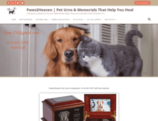 paws2heaven.com screenshot