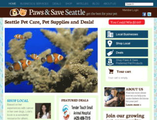 pawsformore.com screenshot