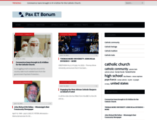 pax-et-bonum.net screenshot