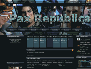 pax-republica.net screenshot