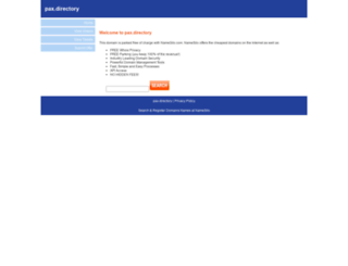 pax.directory screenshot