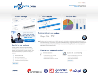 paxonta.com screenshot