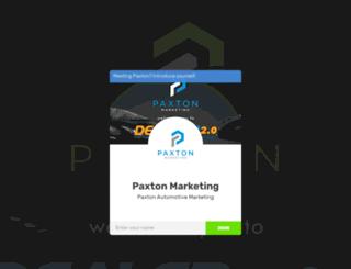 paxtonautomarketing.biz screenshot