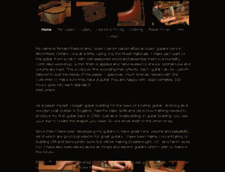 paxtonguitars.com screenshot