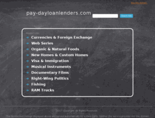 pay-dayloanlenders.com screenshot