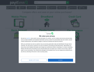 pay-it-less.co.uk screenshot