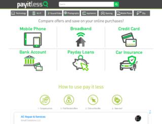 pay-it-less.com screenshot