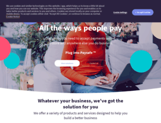 pay.netbanx.com screenshot