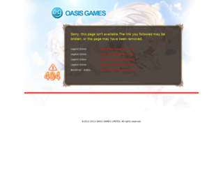 pay.oasgames.com screenshot
