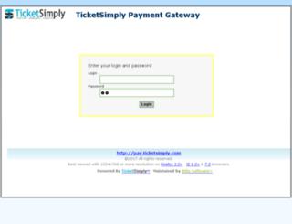 pay.ticketsimply.com screenshot