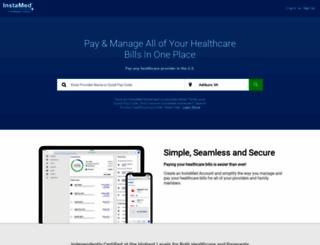pay.wfhealthcarepatientpay.com screenshot