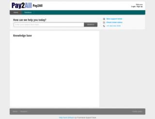 pay2all.freshdesk.com screenshot