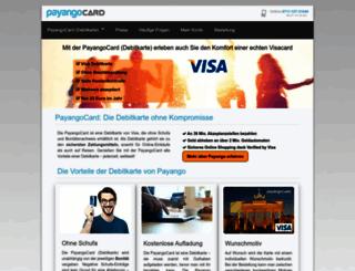 payango.com screenshot