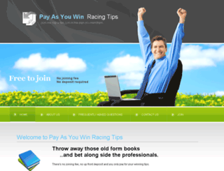 payasyouwinracingtips.co.uk screenshot