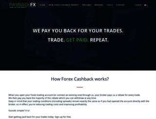 paybackfx.com screenshot