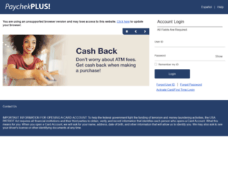 paychekplus.com screenshot