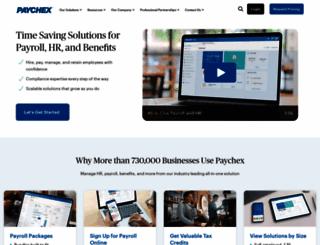 paychex.com screenshot