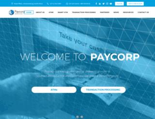 paycorp.co.za screenshot