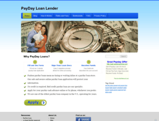 payday-loanlender.com screenshot