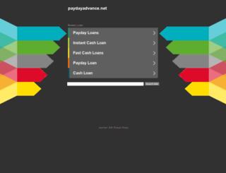 paydayadvance.net screenshot