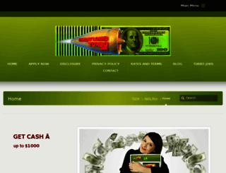 paydayloansturbo.com screenshot