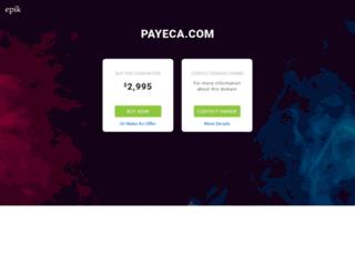 payeca.com screenshot