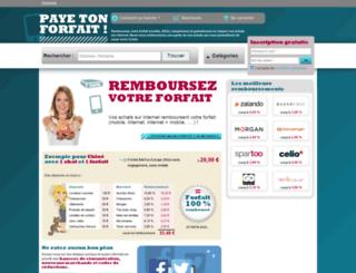 payetonforfait.fr screenshot