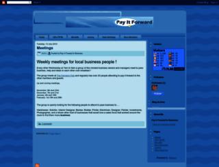 payitforwardinbusiness.blogspot.com screenshot