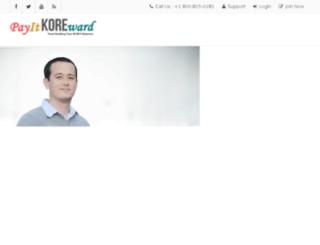 payitkoreward.com screenshot