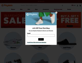 payless.com screenshot