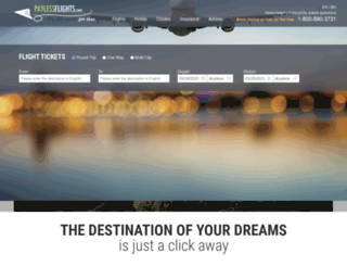 paylessflights.com screenshot