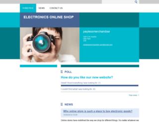 paylessmerchandise.webnode.com screenshot