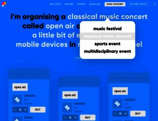 paylogic.com screenshot