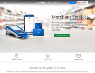 paymentech.com screenshot