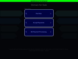 paymenthub.com.au screenshot