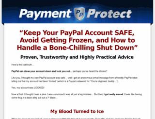 paymentprotect.net screenshot