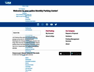 payments.lazparking.com screenshot