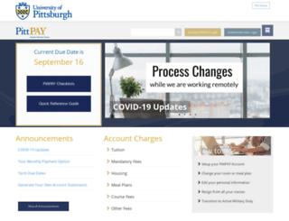 payments.pitt.edu screenshot