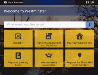payments.westminster.gov.uk screenshot