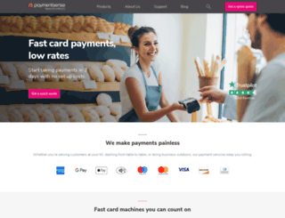 paymentsense.com screenshot